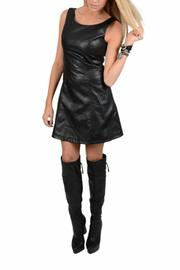 Shoptiques Product: Vegan Leather Dress
