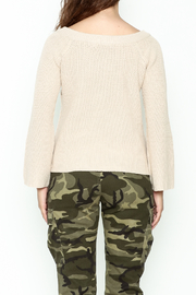 Uniq Crossover Sweater - Back cropped