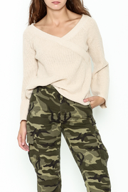 Uniq Crossover Sweater - Front cropped