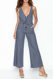 Uniq Denim Jumpsuit - Product Mini Image