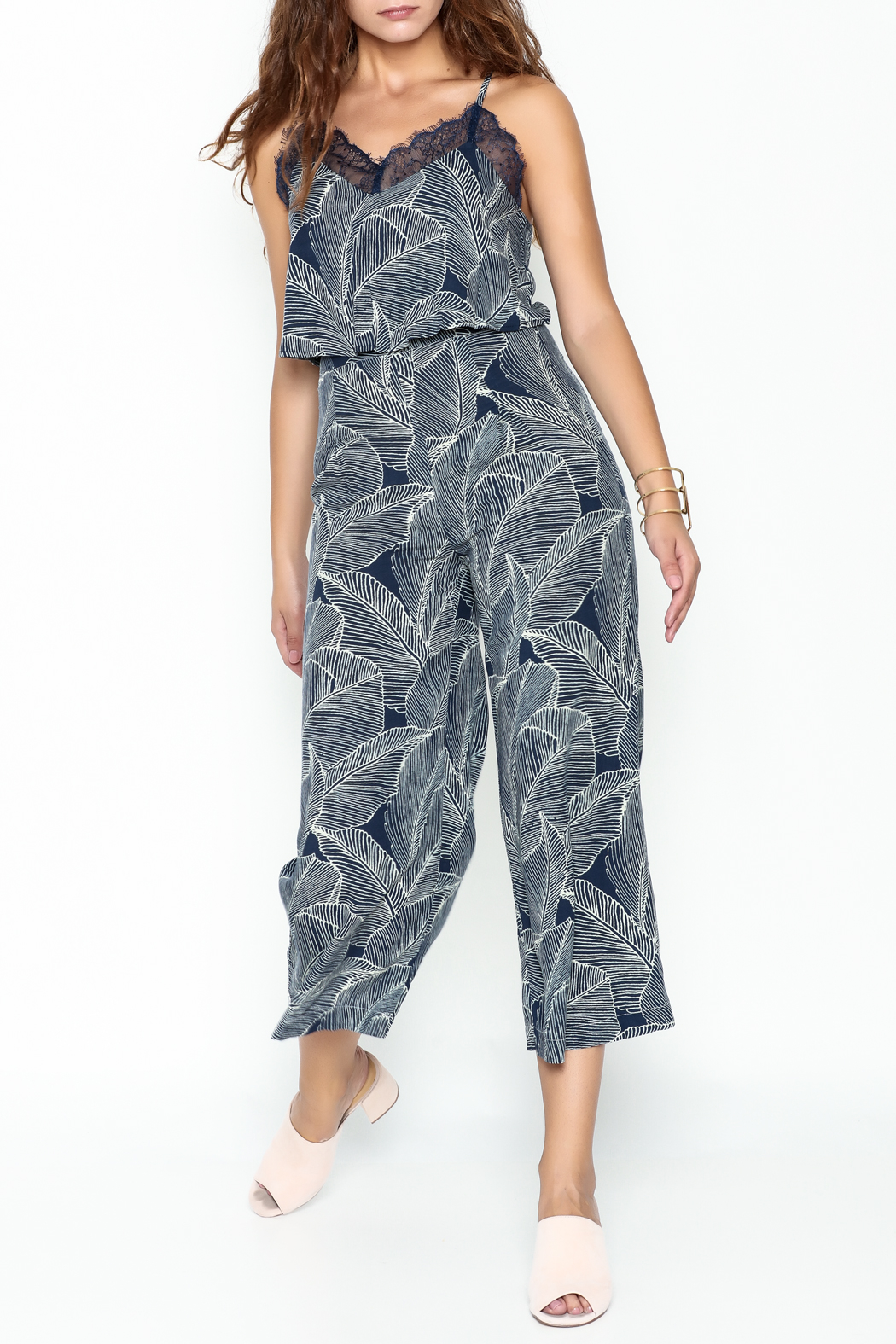 Uniq Leaf Pant Set - Main Image