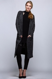 Uniq Long Cardigan Sweater - Front cropped