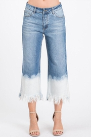 Uniq Ombre Wide-Leg Jean - Product Mini Image