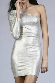 Uniq One Shoulder Dress - Product Mini Image