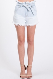 Uniq Paaperbag Waist Shorts - Product Mini Image