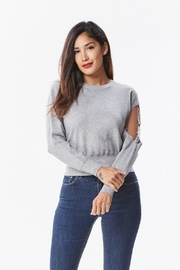 Uniq Ring Sleeve Sweater - Product Mini Image