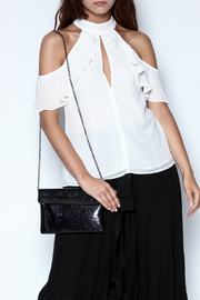 Uniq Ruffle Blouse - Product Mini Image