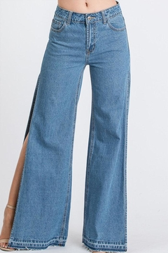 Shoptiques Product: Side Slit Jeans