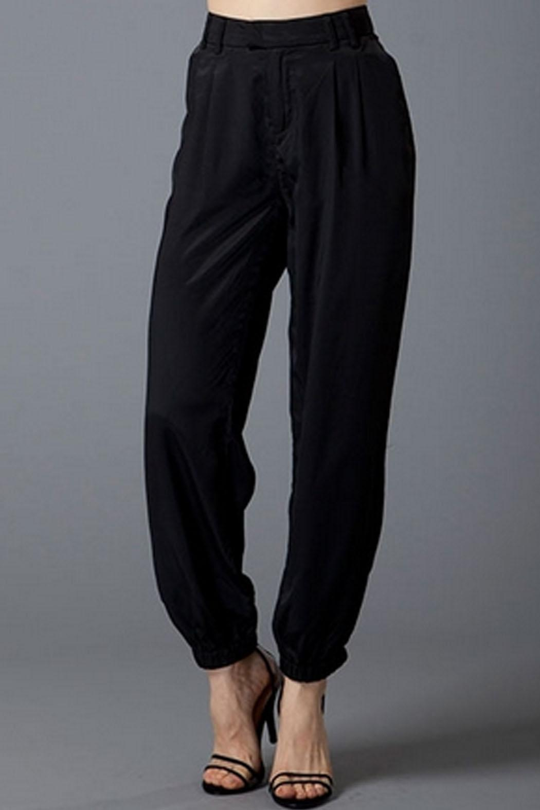 Uniq Silky Jogger Pants - Front Cropped Image