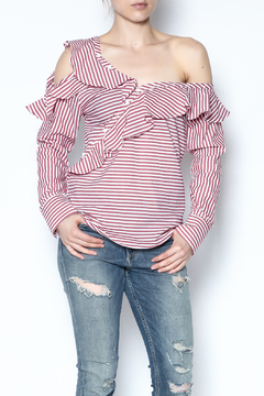 Shoptiques Product: Stripe Long Sleeve Top