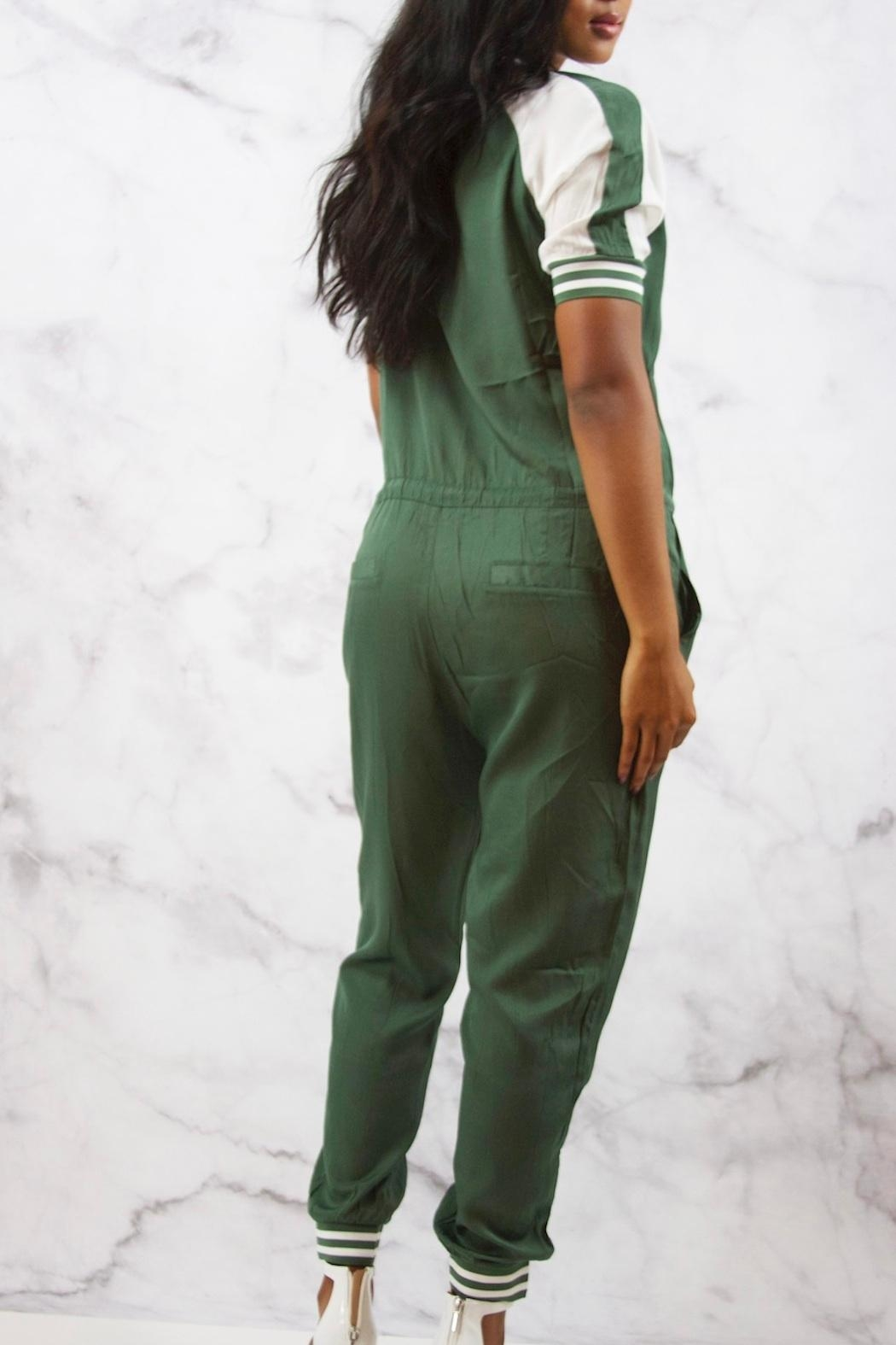 Uniqlo Silker Jogger Jumpsuit - Side Cropped Image