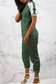 Uniqlo Silker Jogger Jumpsuit - Front full body