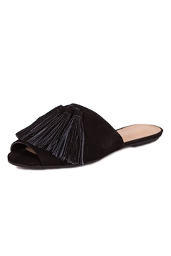 Shoptiques Product: Black Suede Slippers