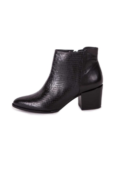 Shoptiques Product: Croco Leather Booties