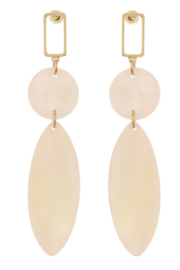 Bluebell Unique Drop Earrings - Product Mini Image