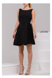 Jovani Unique Swing Dress - Front cropped