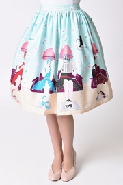 Unique Vintage Beauty Salon Skirt - Product Mini Image