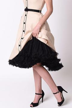 Shoptiques Product: Black Ruffled Petticoat