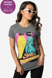 Unique Vintage Bride-Of-Frankenstein Tee - Product Mini Image
