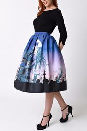 Unique Vintage Haunted Mansion Skirt - Front full body