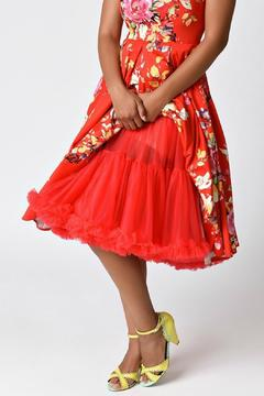 Shoptiques Product: Ramona Red Crinoline