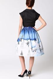 Unique Vintage Winter Kingdom Skirt - Front full body