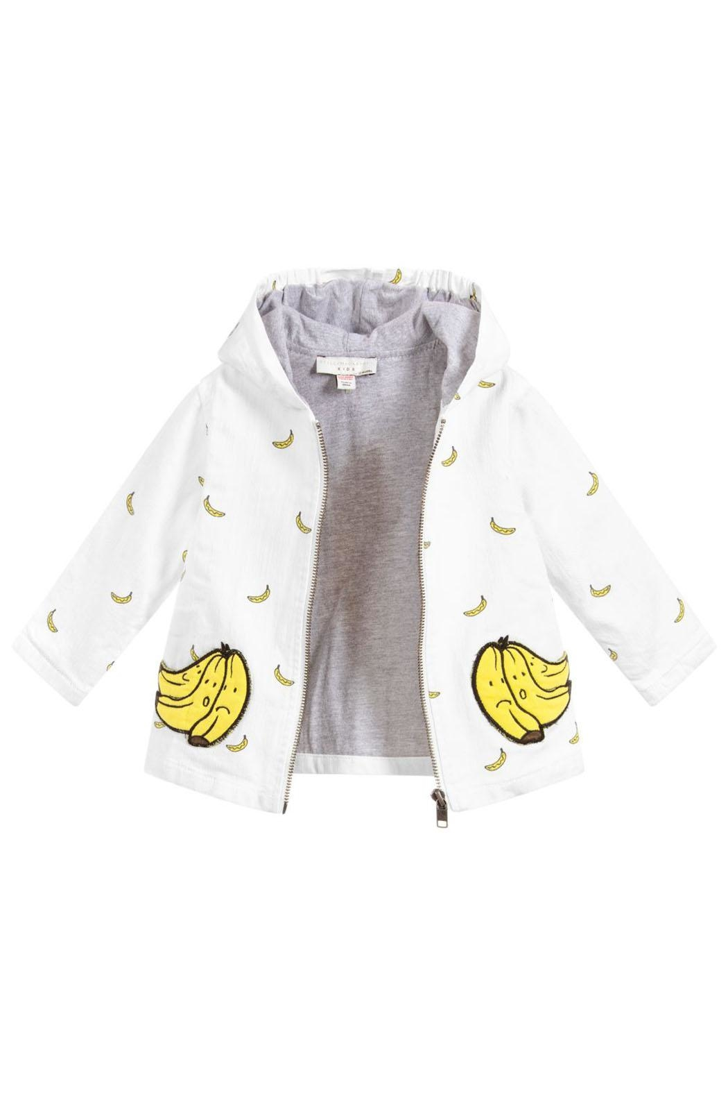 Stella McCartney Kids Unisex Bananas Jacket - Side Cropped Image