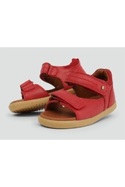 Bobux Unisex Driftwood Red-Sandals - Front cropped