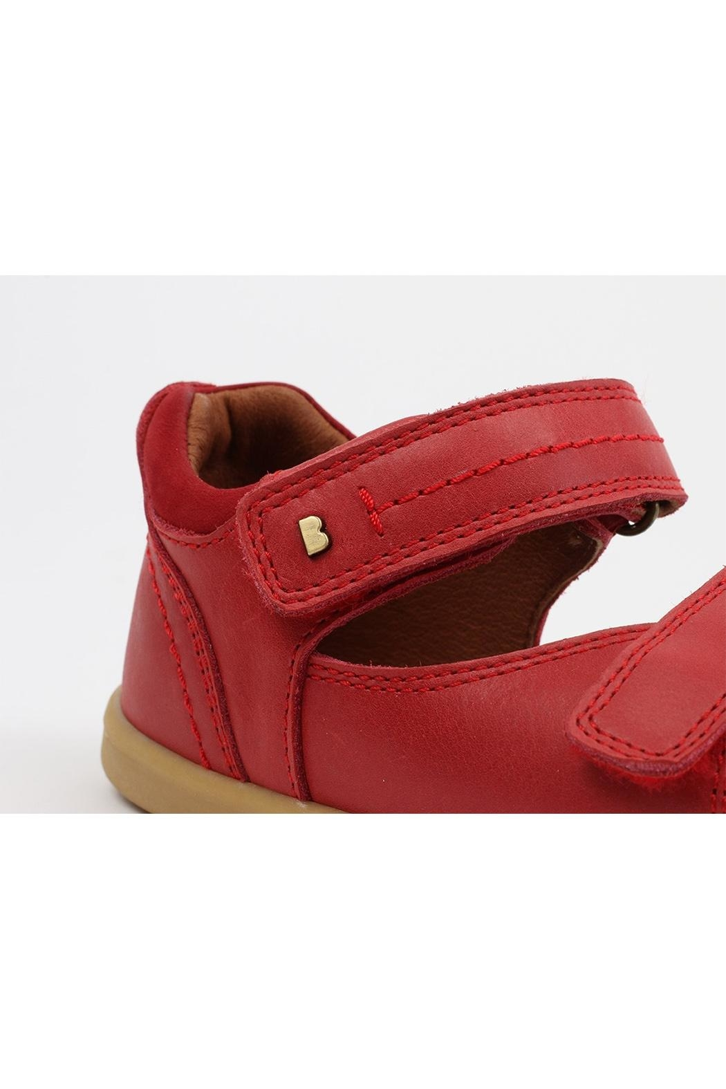 Bobux Unisex Driftwood Red-Sandals - Front Full Image