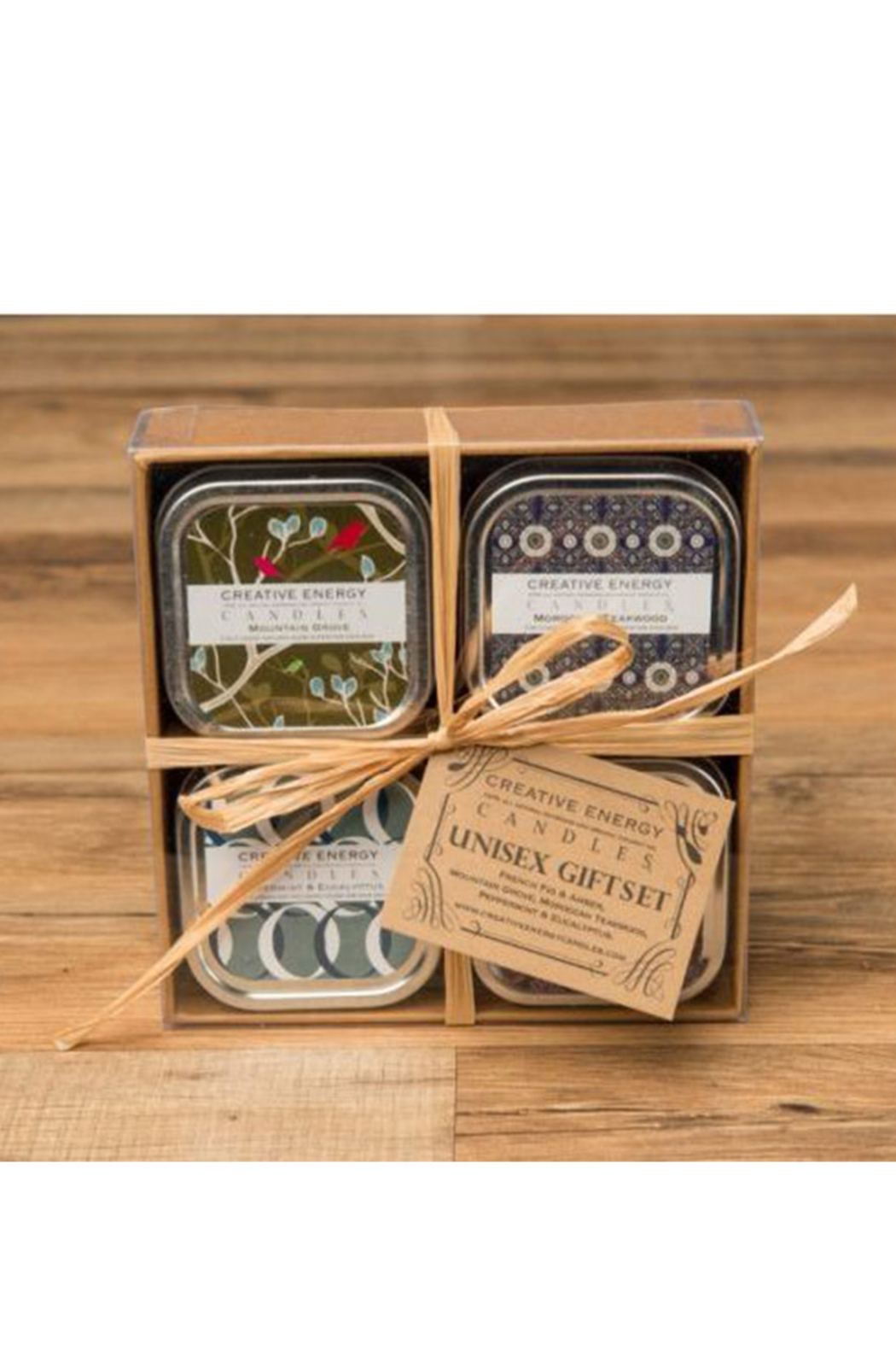 Creative Energy Candles Unisex Gift Set - Front Cropped Image