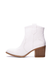 Dirty Laundry Unite Snake Bootie - Front cropped