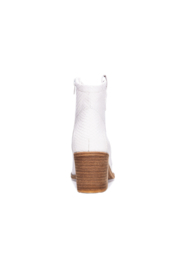 Dirty Laundry Unite Snake Bootie - Back cropped