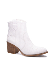 Dirty Laundry Unite Snake Bootie - Side cropped