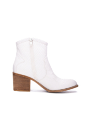 Dirty Laundry Unite Snake Bootie - Front full body