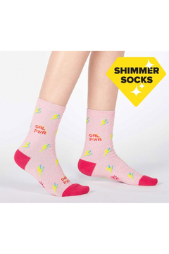 Sock it to me United We Shine Crew Sock - Product List Image