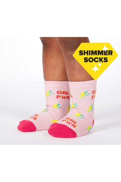 Sock it to me United We Shine Toddler Crew Socks - Product List Image