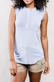 United by Blue Sleeveless Henley Top - Product Mini Image