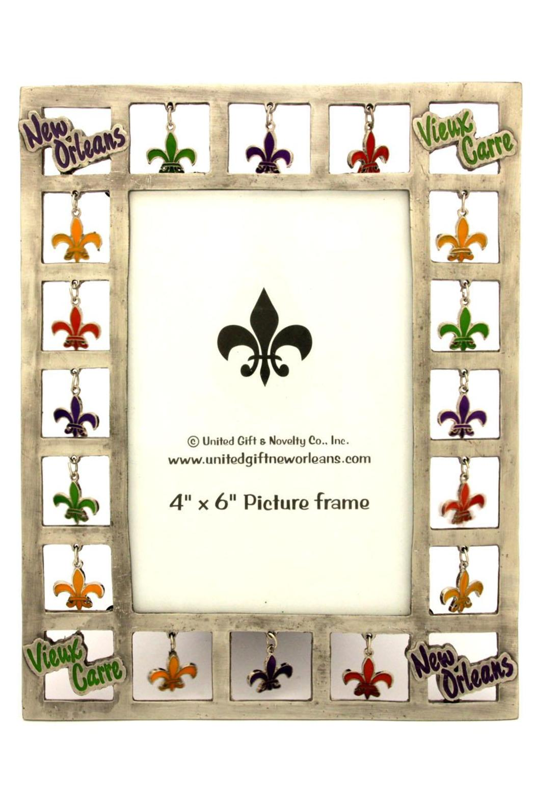 United Gifts Fleur De Lis Picture Frame From Alabama By Jubilee Gift