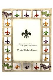 United Gifts Fleur-De-Lis Picture Frame - Product Mini Image