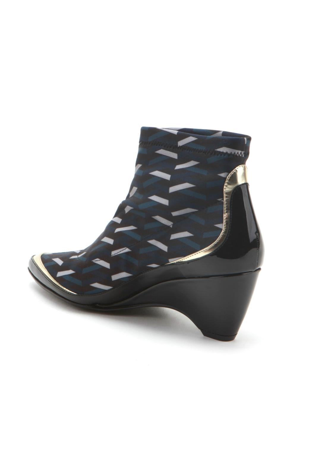 United Nude Patterned Bootie - Side Cropped Image
