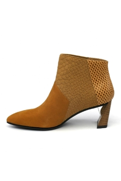 Shoptiques Product: Mid-Heel Ankle Bootie