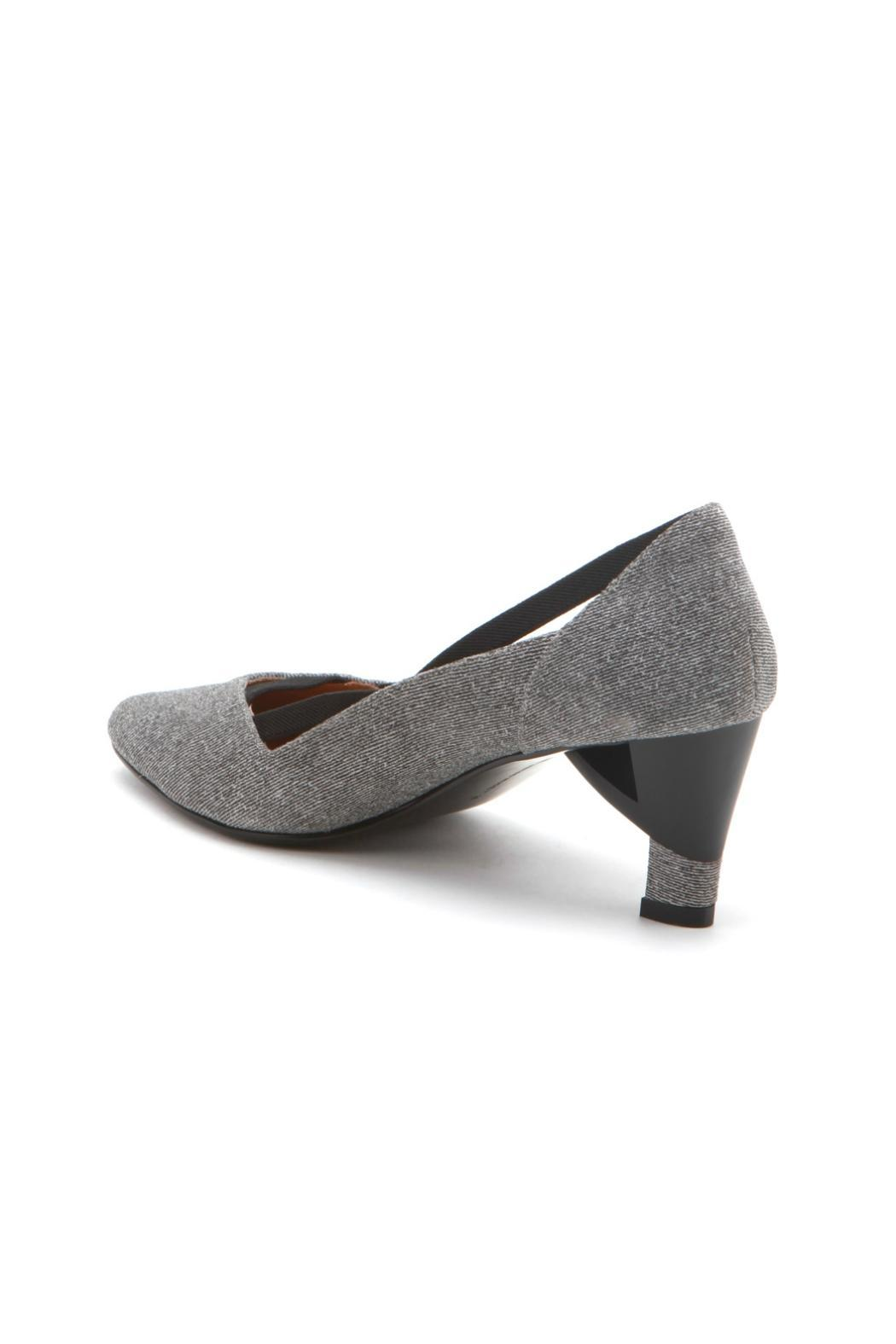 United Nude Grey Pump - Side Cropped Image