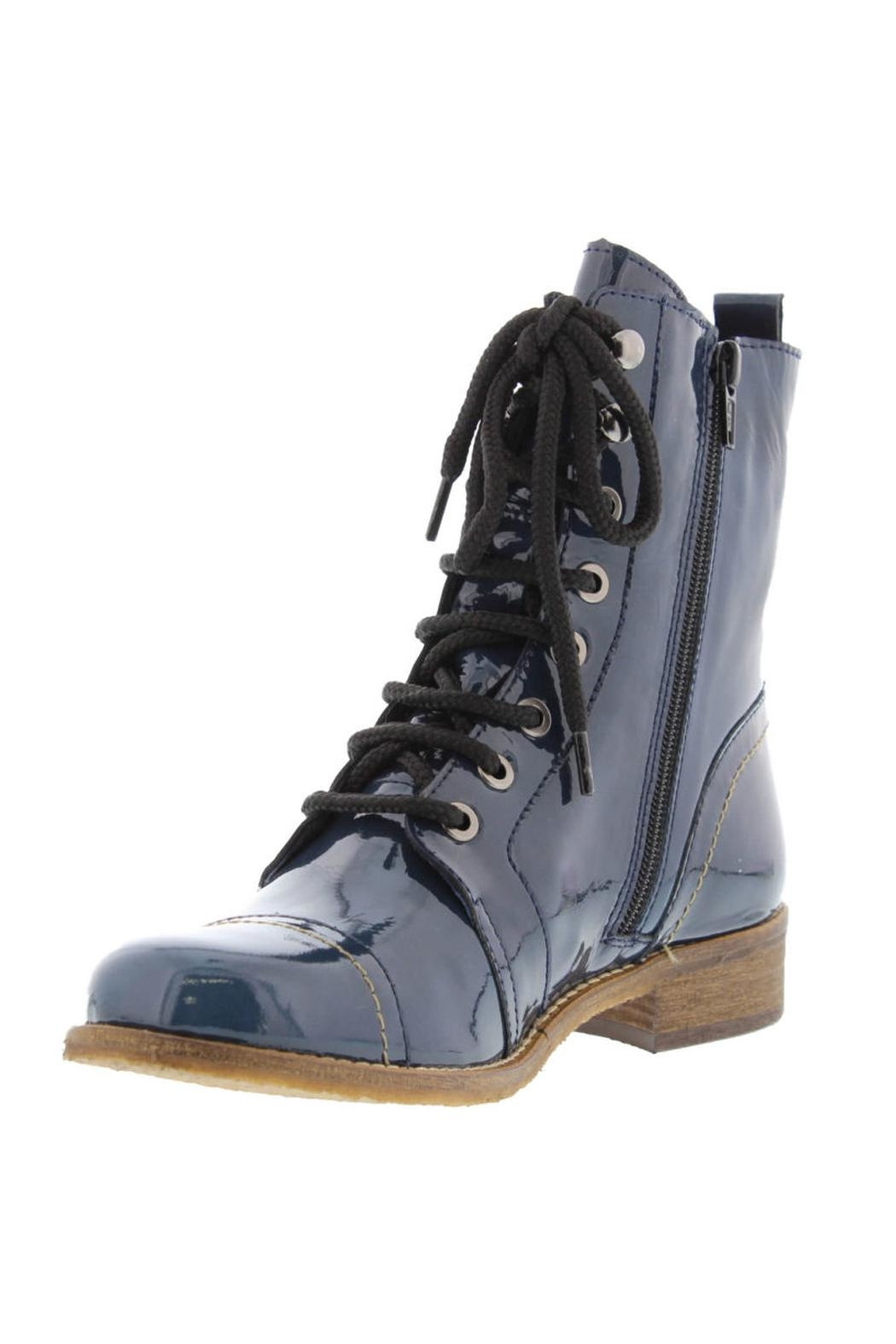 Unity.In.Diversity Liberty Lace Up Boot - Side Cropped Image