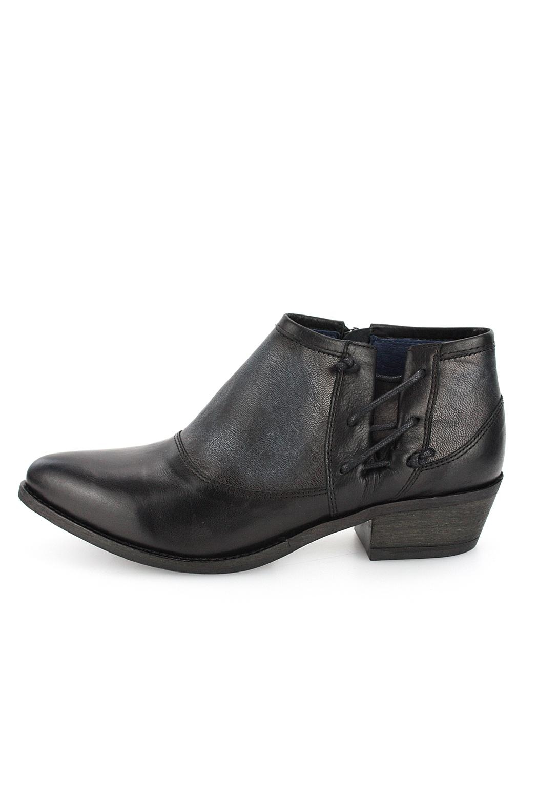 Unity.In.Diversity Trevi Leather Bootie - Front Cropped Image