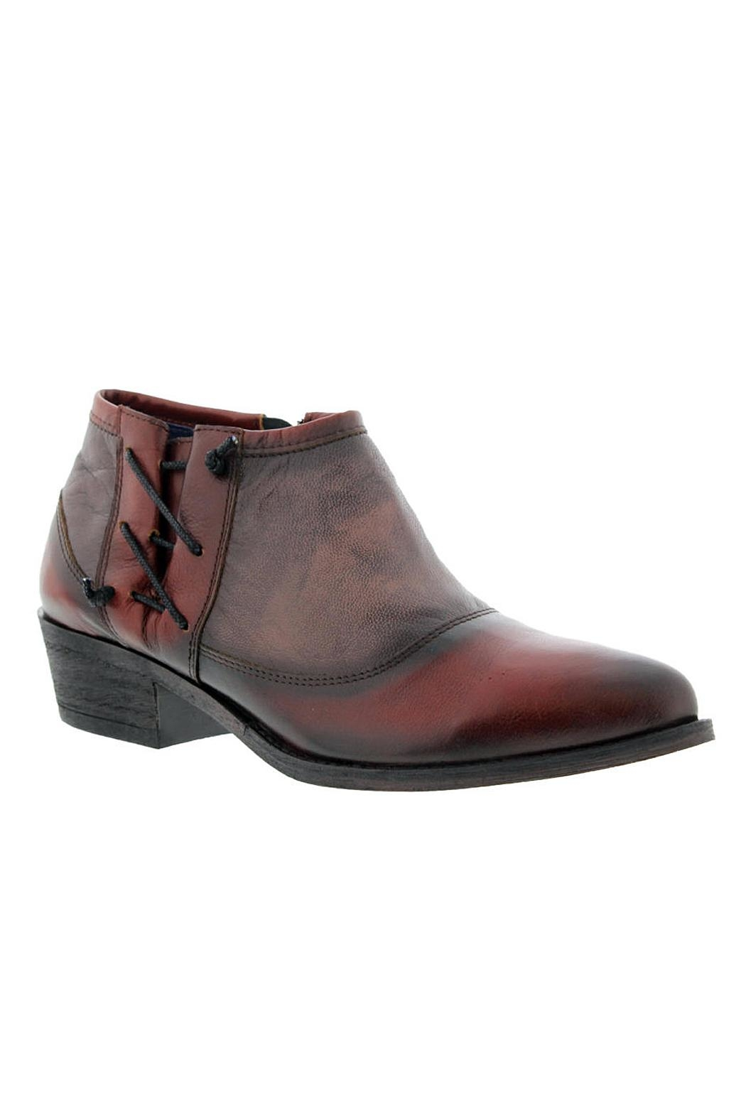 Unity.In.Diversity Trevi Leather Bootie - Front Full Image