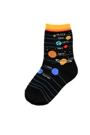 Foot Traffic Universe Planet Sox's - Front cropped