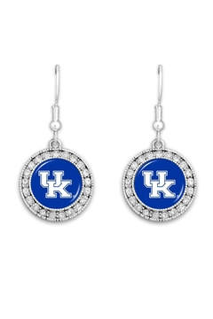 NCAA University-Of-Kentucky Ncaa-Officially-Licensed Logo-Earring - Product List Image