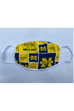Shoptiques Product: University of Michigan Face Mask