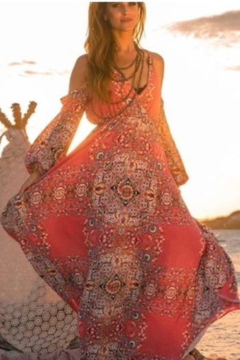 Judith March Beach Boho Dress - Main Image