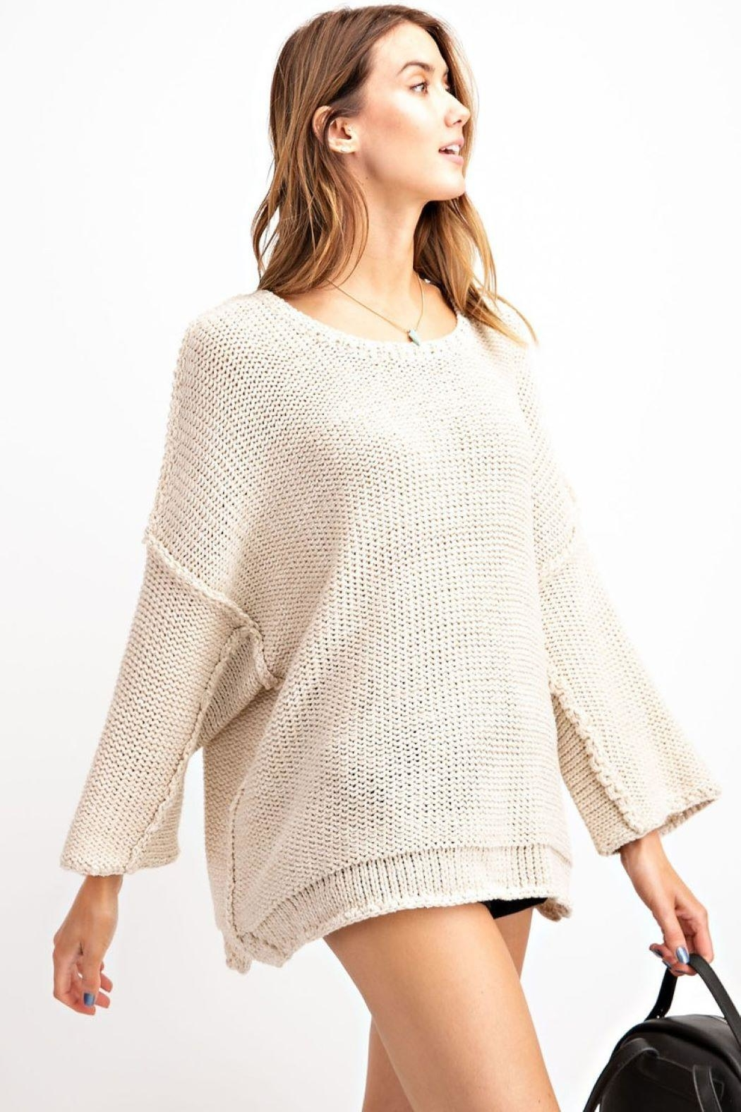 Unknown Factory Cozy Sweater - Front Full Image